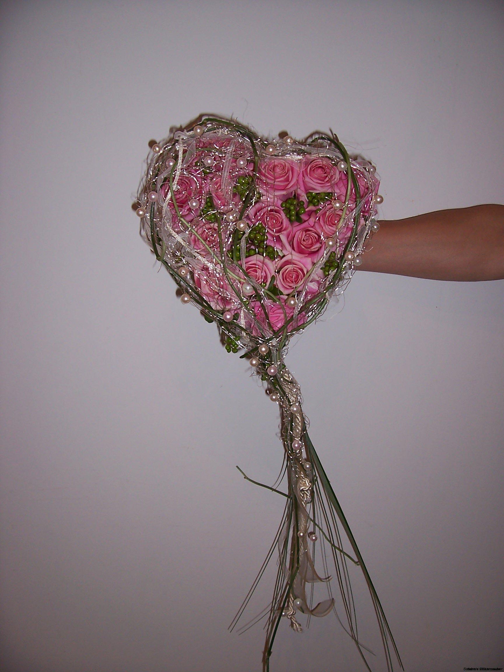 Herz-Brautstrauß